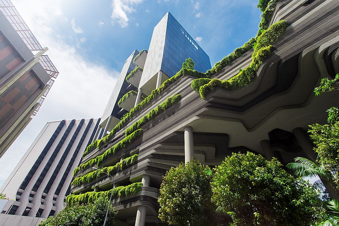 The Parkroyal on Pickering in Singapore. Editorial credit: Ivan Kurmyshov / Shutterstock.com.