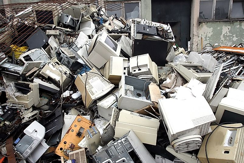 Buried under e-Waste.