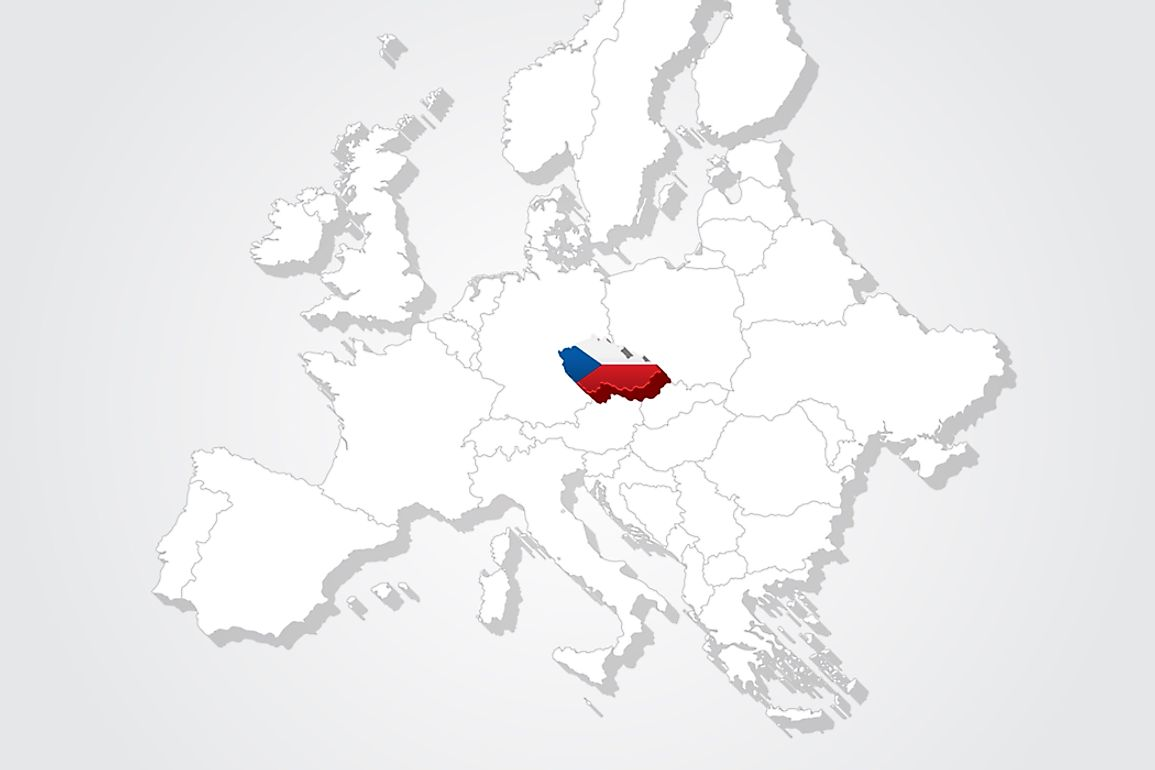 The Czech Republic is a landlocked country in Central Europe.