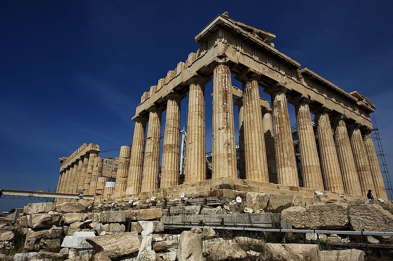 Parthenon in Athens. Image credit: Andrew Baldwin/Flickr.com