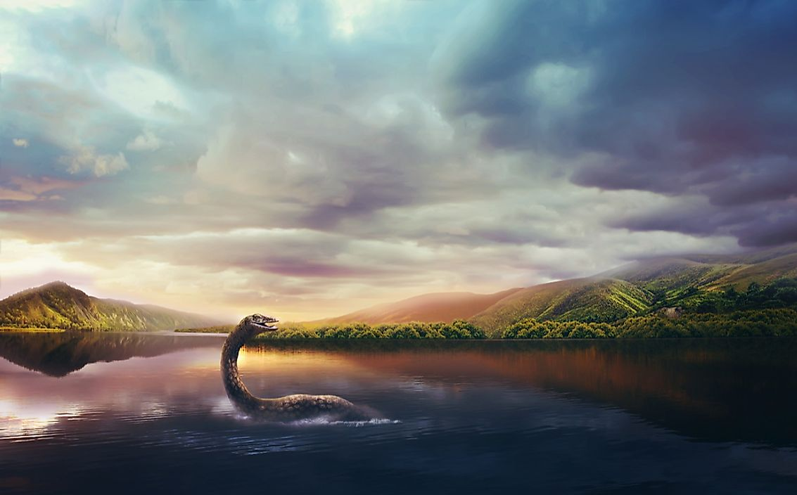 The Loch Ness Monster, who is said to inhabit the Scottish Highlands, is one of the most famous sea monsters in the world.