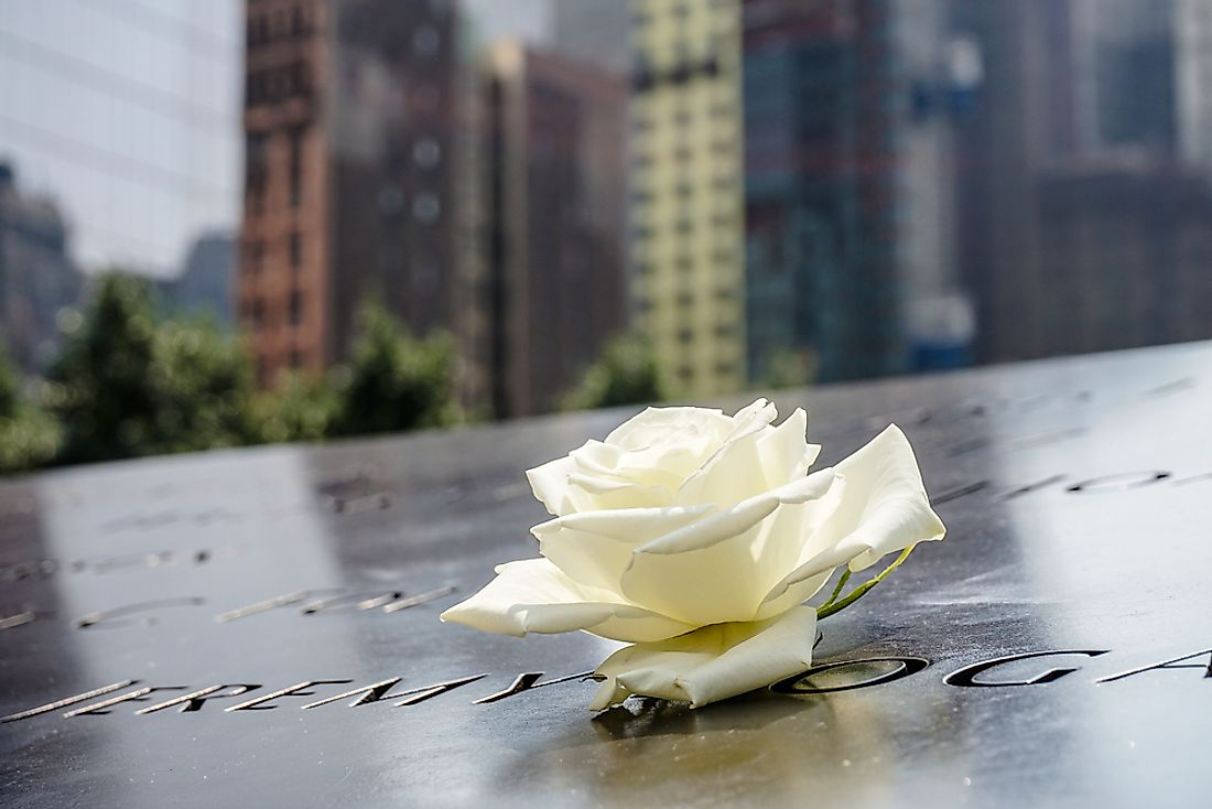 The 9/11 memorial in New York City pays respect to those lives lost in the worst terror attack to ever happen on US soil.