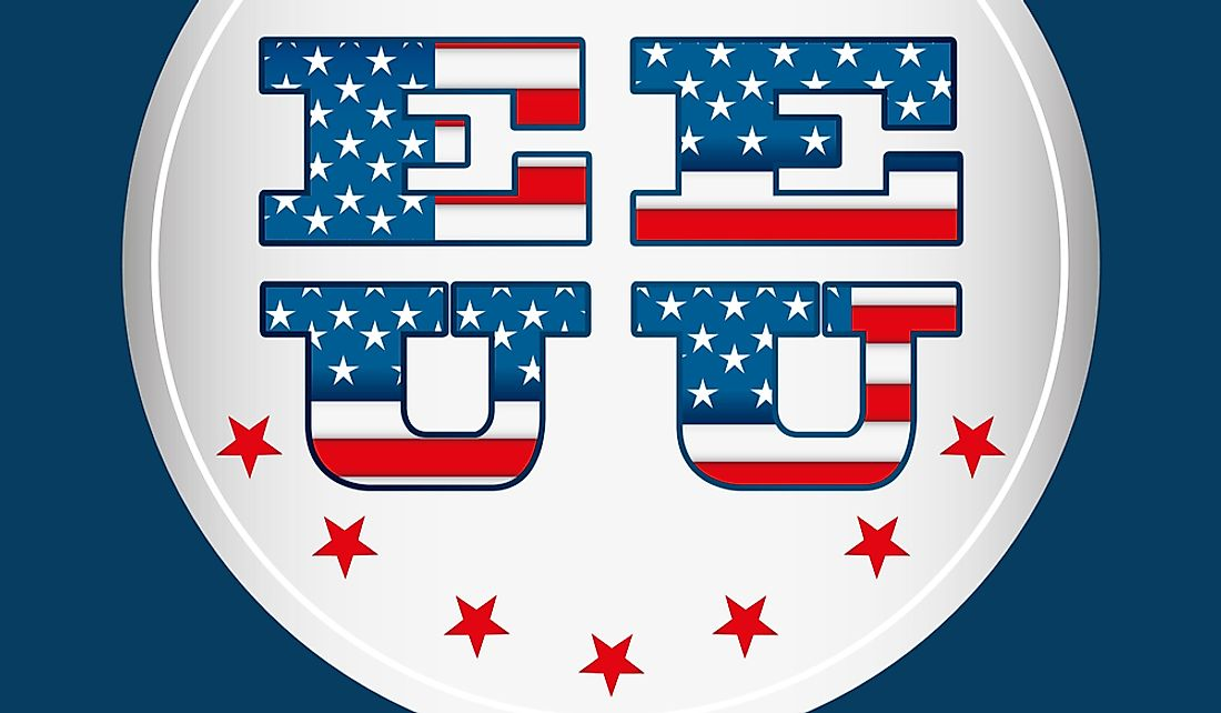 EE UU is the Spanish abbreviation for the US (United States).