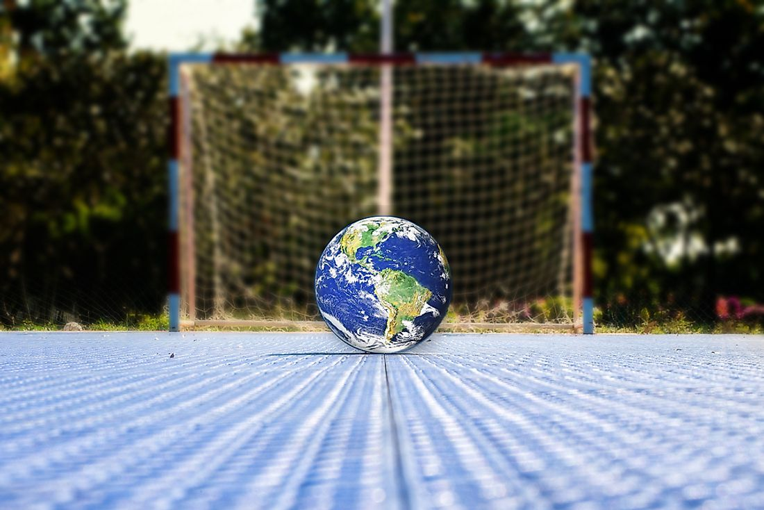 A shared love for association football (soccer) is a common bond between more than half of the earth's population.