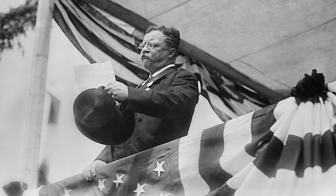 Theodore Roosevelt was fluent in three languages and conversational in two more.  Editorial credit: Everett Historical / Shutterstock.com