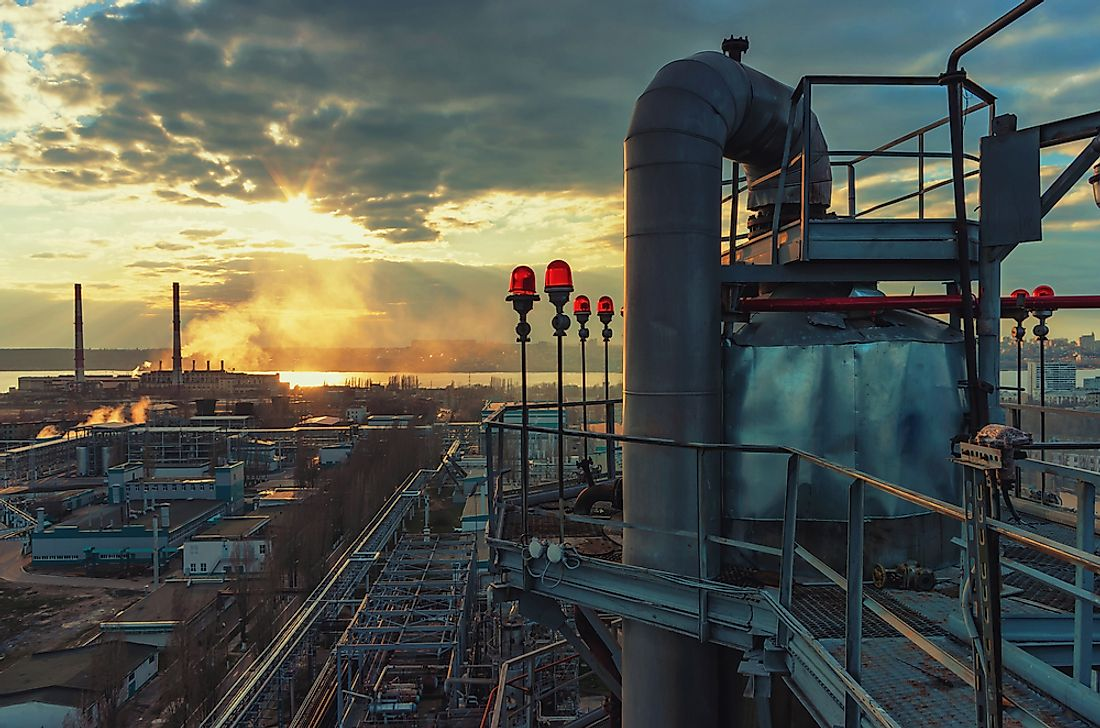 Oil and gas are major revenue generating industries in Russia.