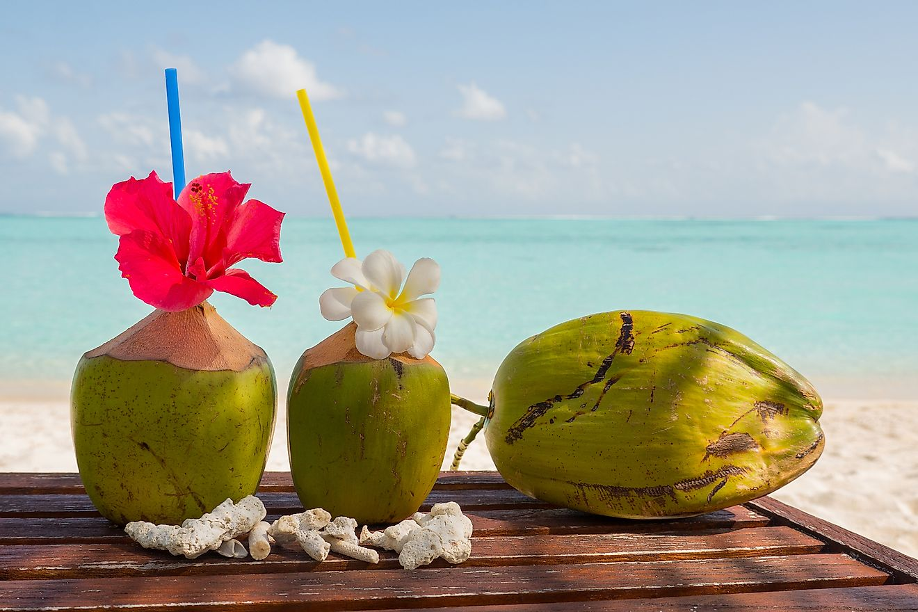 Coconuts are an integral part of Maldivian culture and cuisine. Image credit: Beetroot Studio/Shutterstock.com