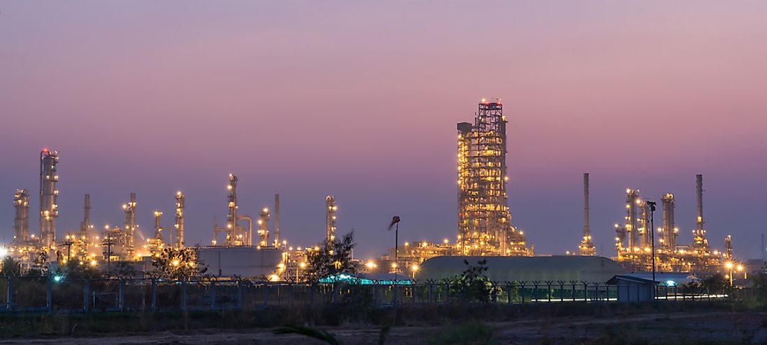 Oil and natural gas are two of the largest natural resource industries in Kuwait.