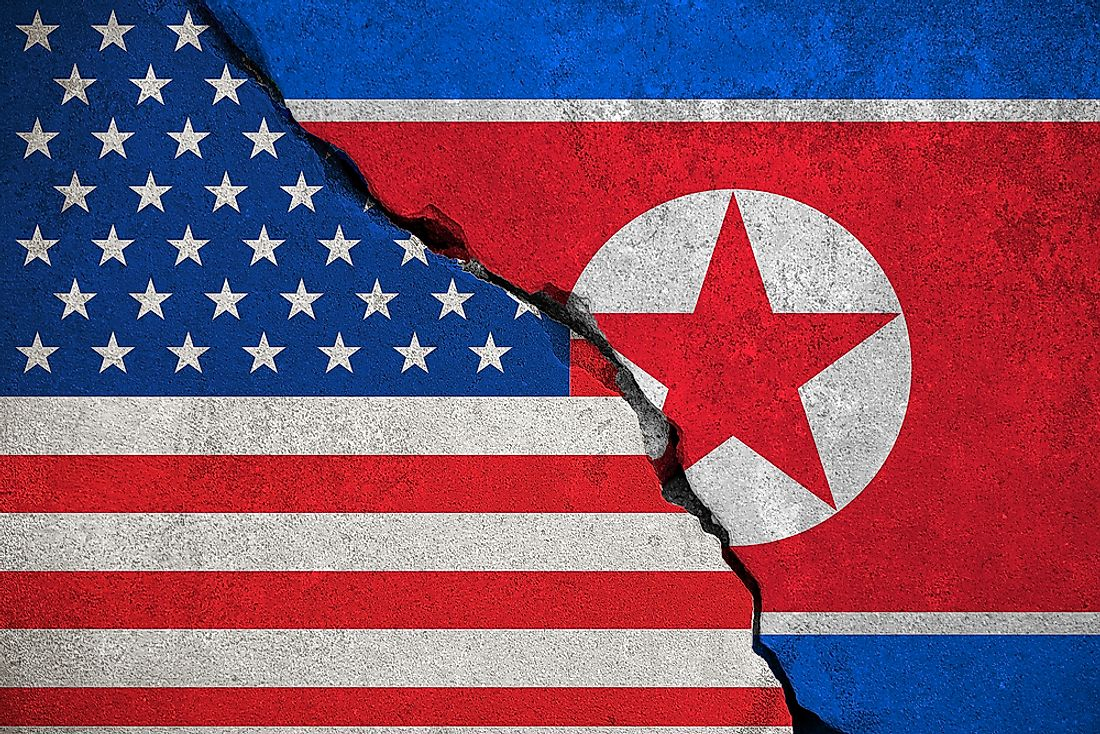 The United States and North Korea do not maintain diplomatic relations.