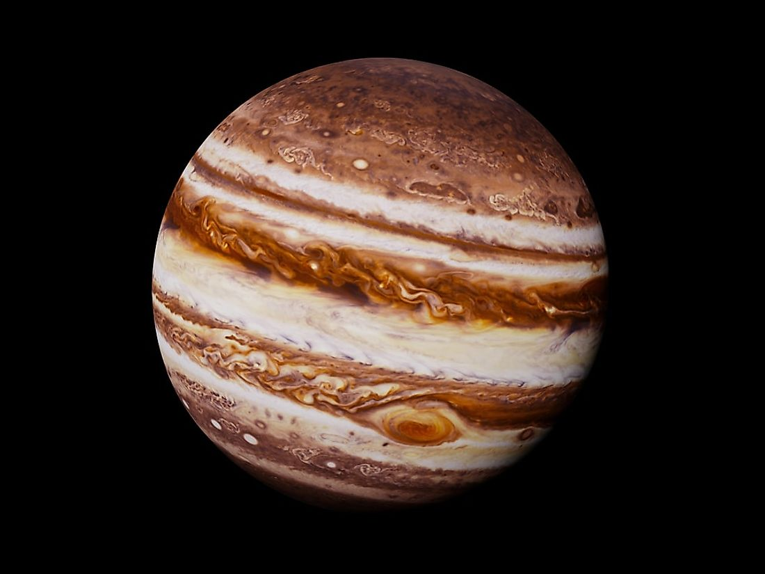 Jupiter, the largest planet in our Solar System.