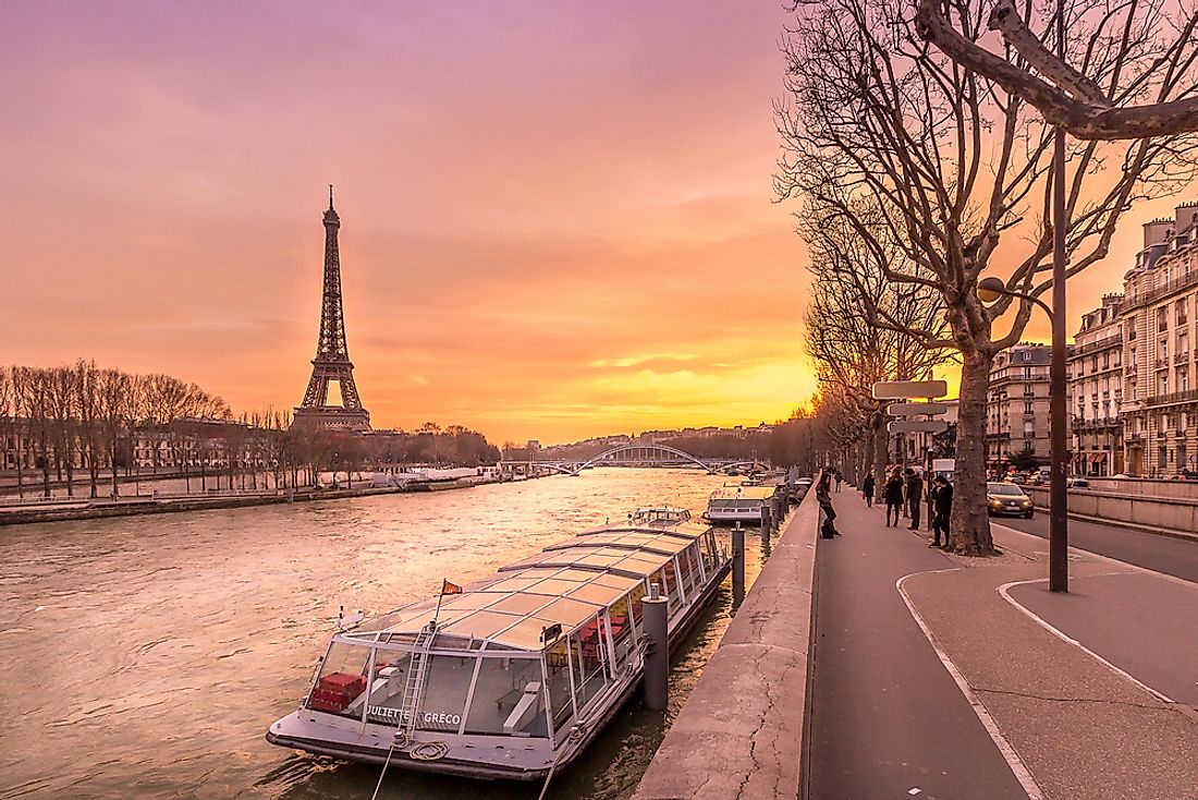 Paris is on the River Seine.