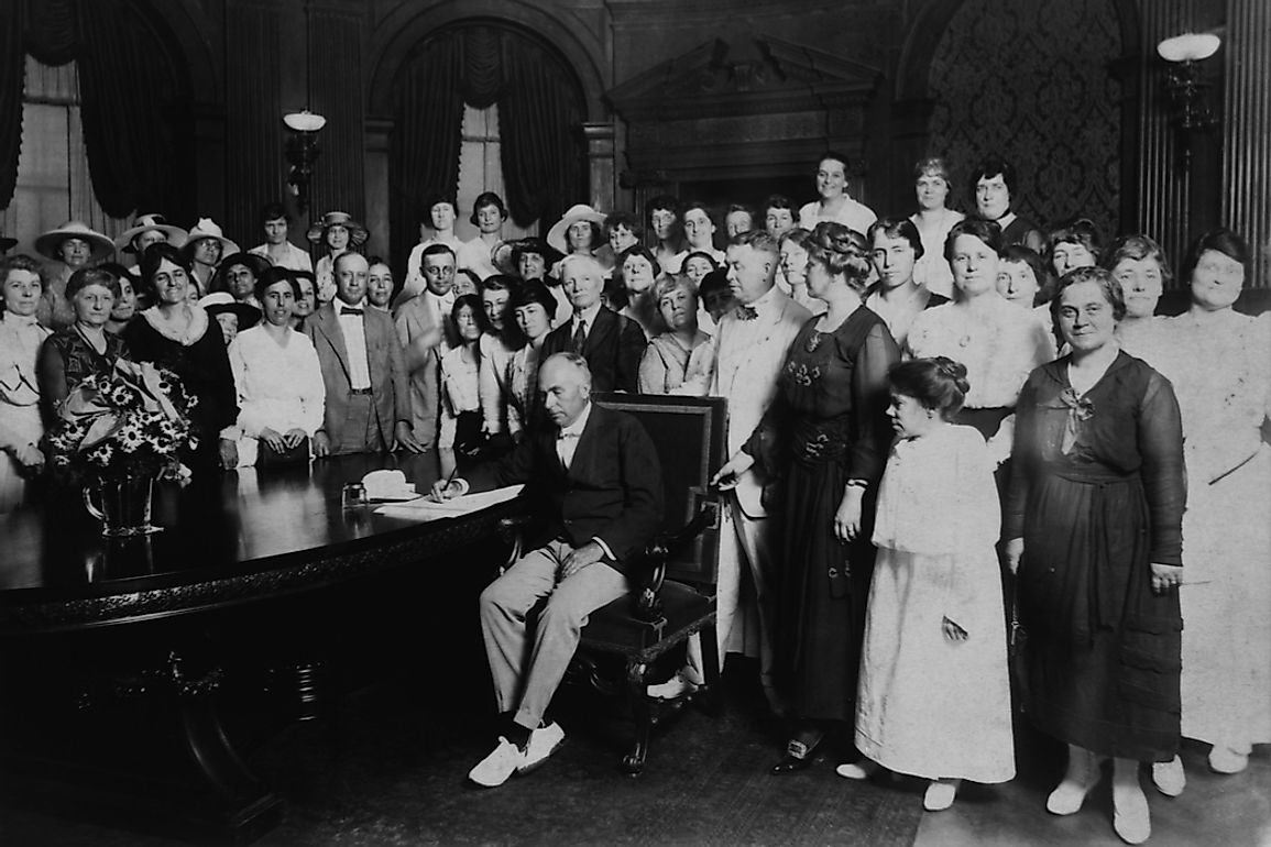 On January 6, 1920, Missouri became the 11th state of the then required 36 to ratify the 19th amendment.