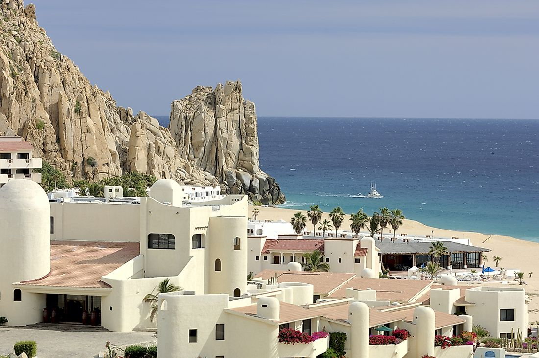 Baja California Sur has a large tourism industry.
