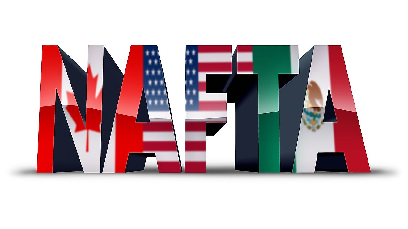 NAFTA is an example of a free trade agreement.