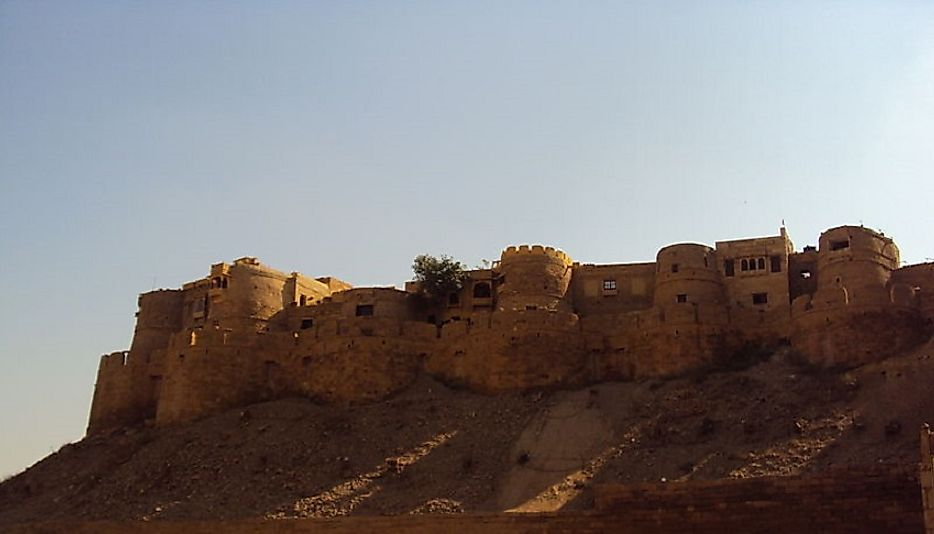 The Jaisalmer Hill Fort of Rajasthan, India.
