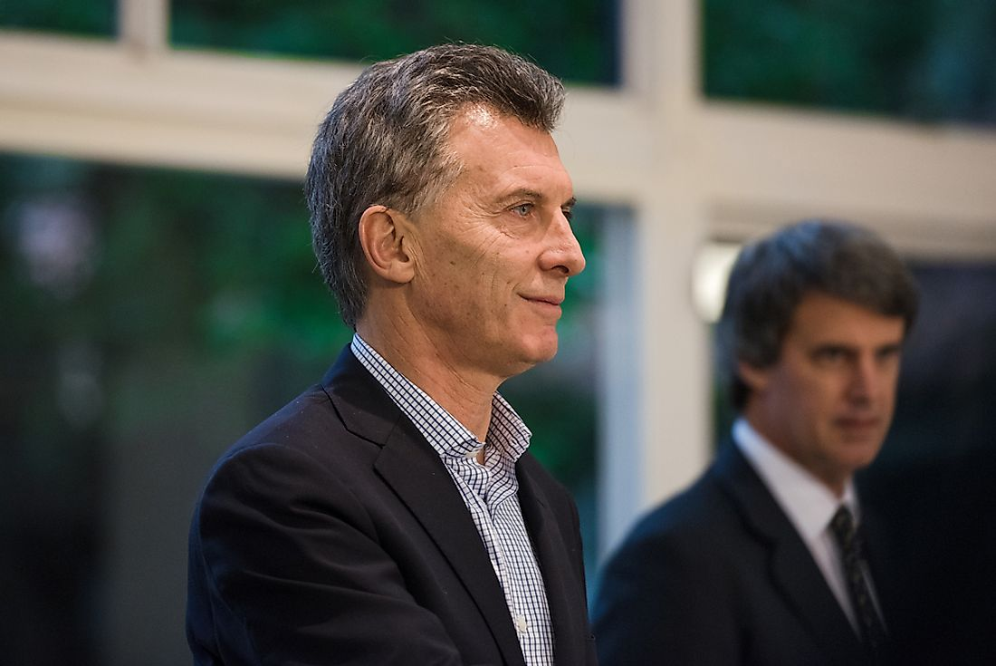 Mauricio Macri became the President of Argentina in 2015. Editorial credit: SC Image / Shutterstock.com.