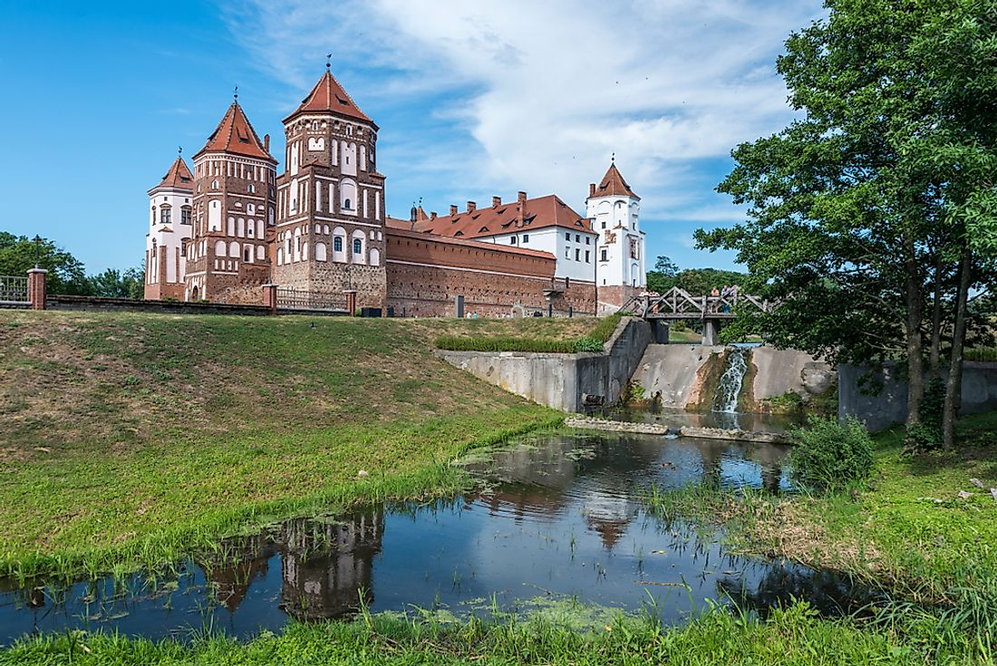 Mir Castle​ in Belarus is one of the spectacular castles in the whole of Europe