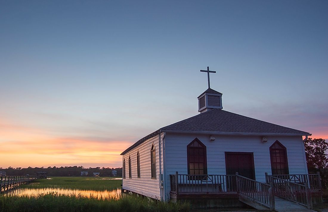 A chapel in South Carolina.