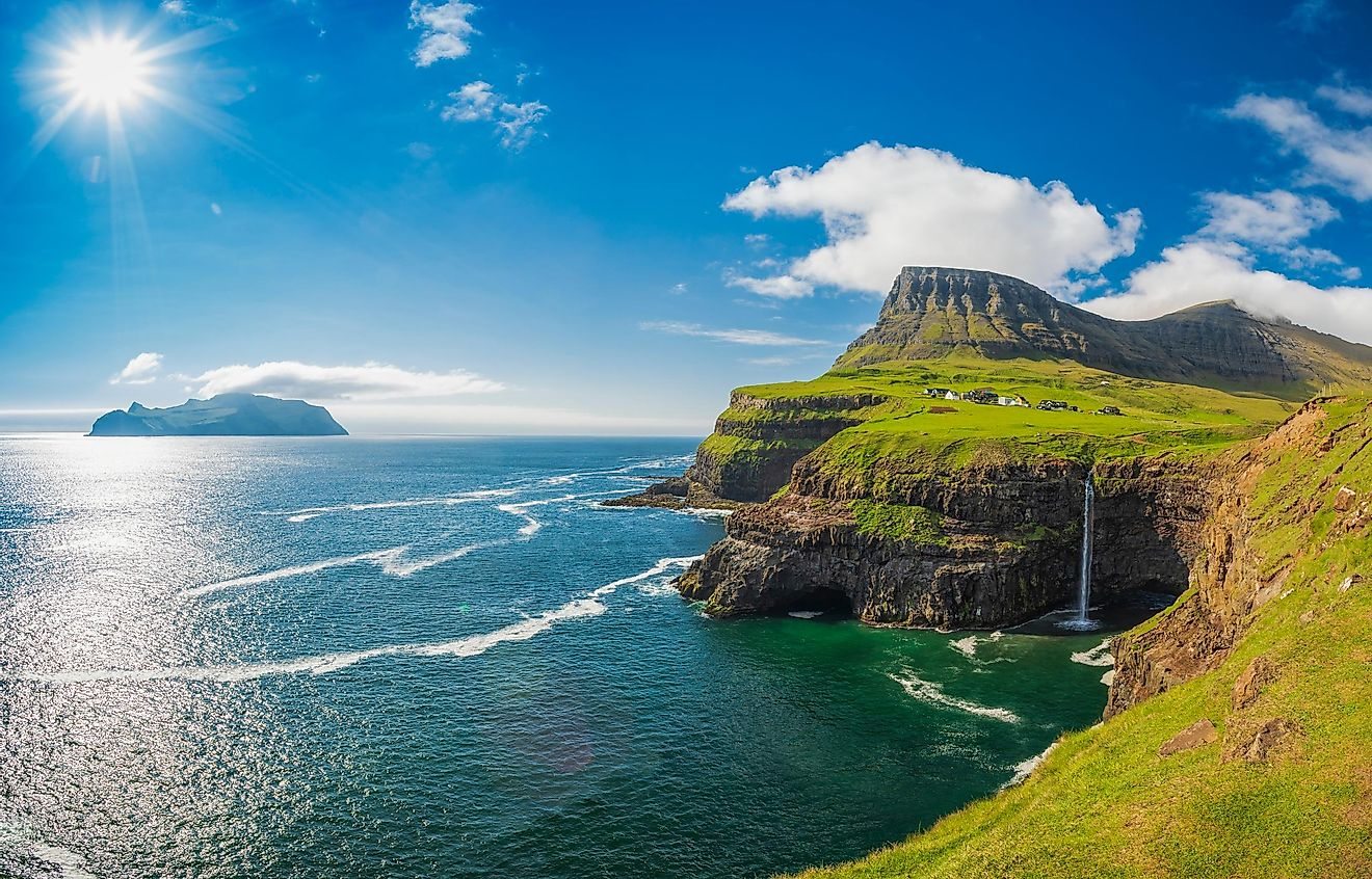Vager, Faroe Islands, Denmark.