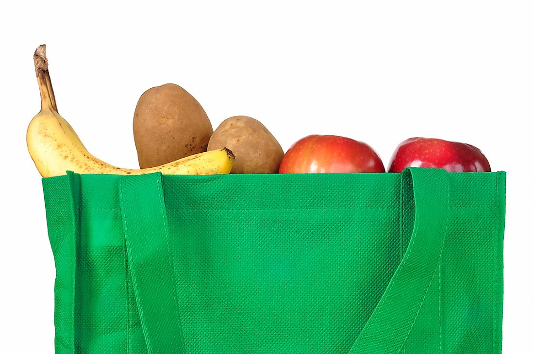 Keeping alternatives to plastic bags on hand can be a great way to help the Earth.