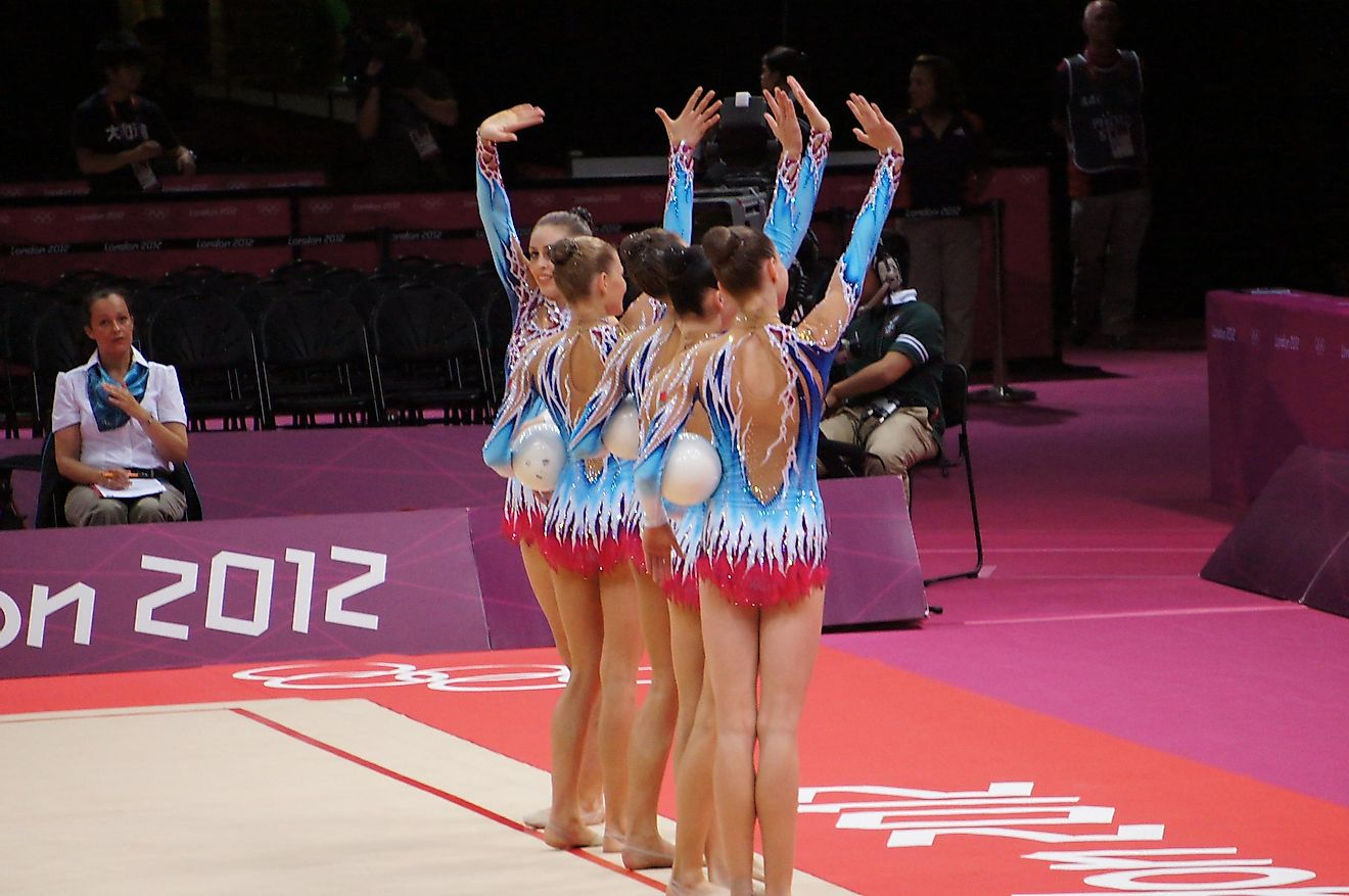 Women were allowed to participate in Olympics Gymnastics events since the year 1928.
