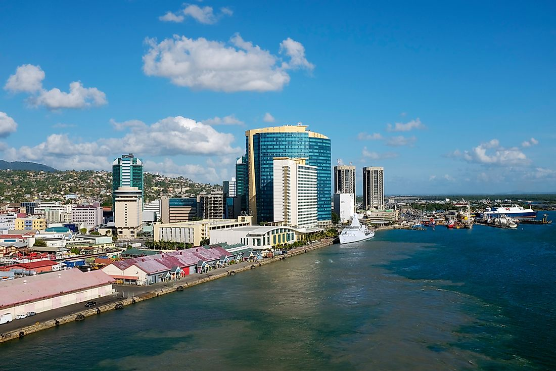 Port of Spain, Trinidad and Tobago.