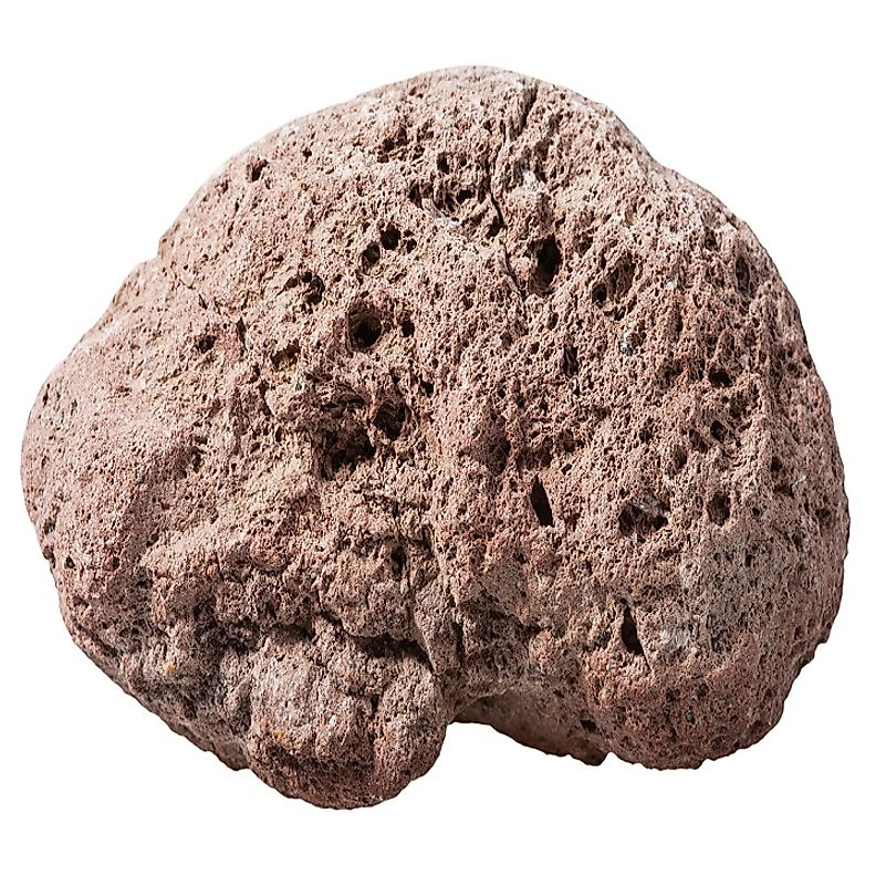 Brown pumice stone sourced from volcanic rock.