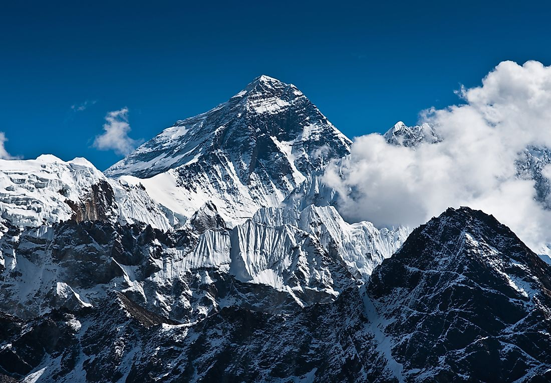 Mountaineers climbing Mount Everest (29,029 ft) spend considerable time within the death zone (above 26,000 ft).