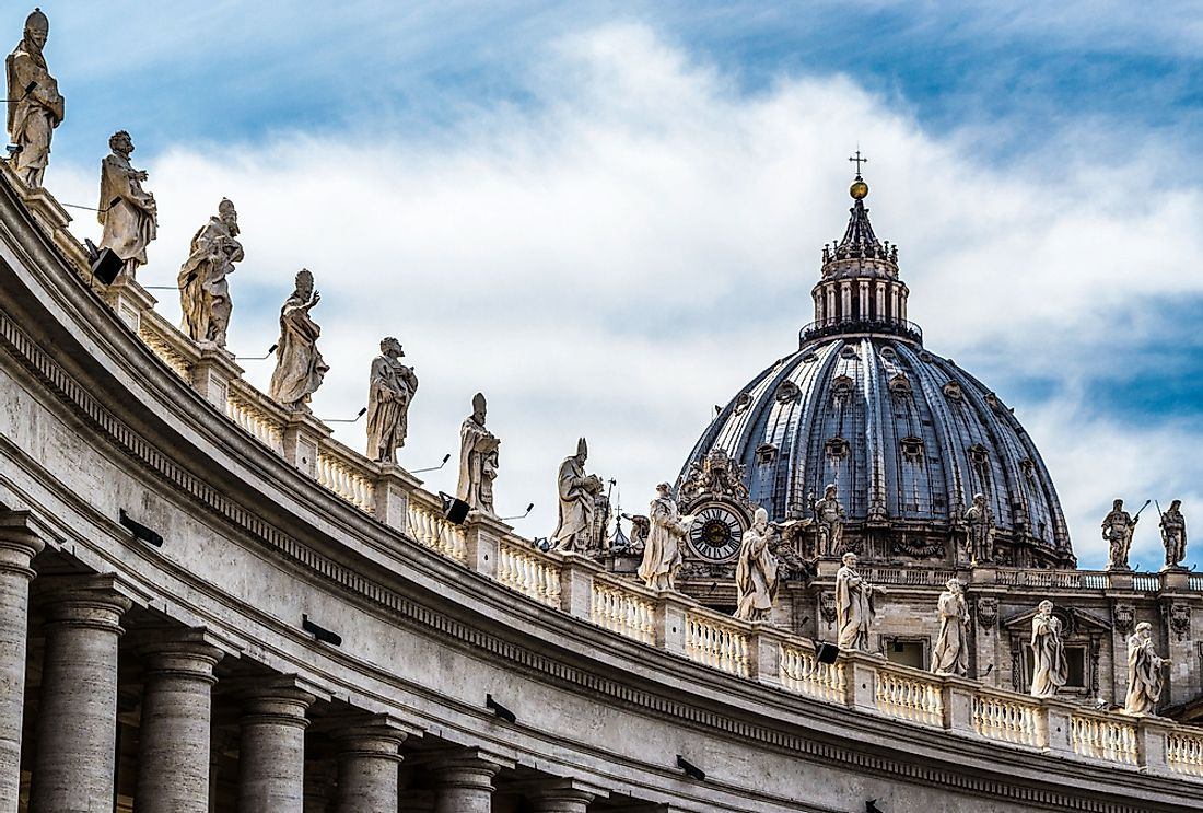Vatican City is Europe's least populated country, with a population of under 1,000.