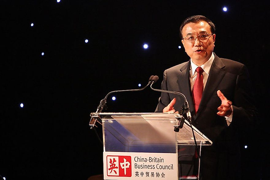 Li Keqiang, the current Premier of the People's Republic of China.