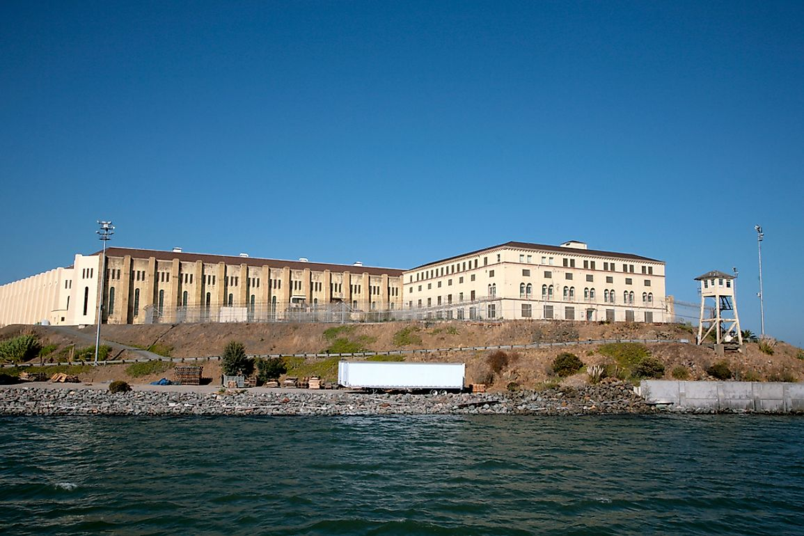 San Quentin State Prison is California's oldest detention facility.