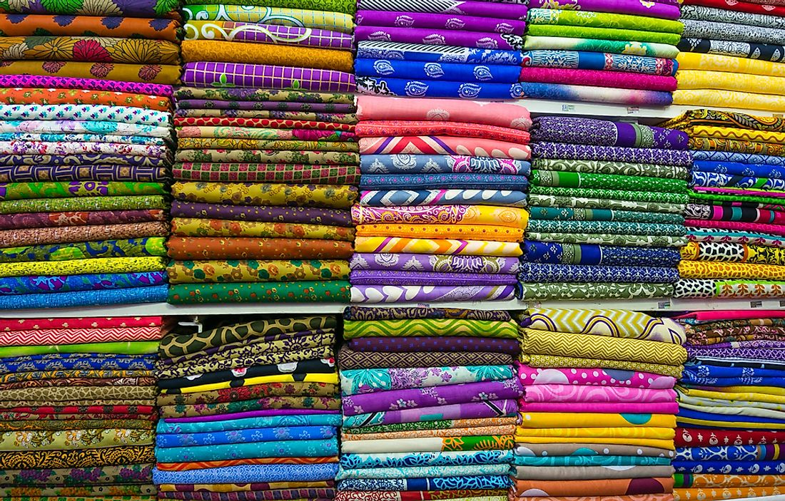 Textiles play a major role in the economic integrity of Bangladesh.