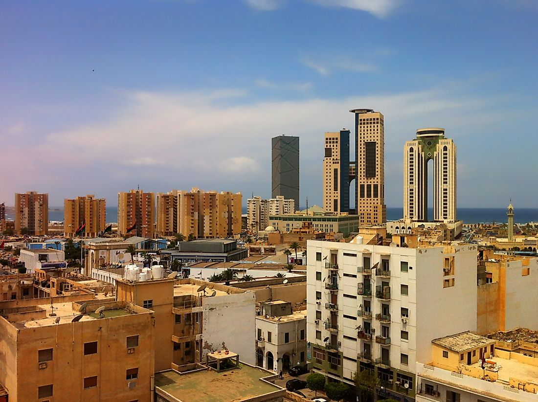 Tripoli is the largest and most important city as well as the capital of Libya.