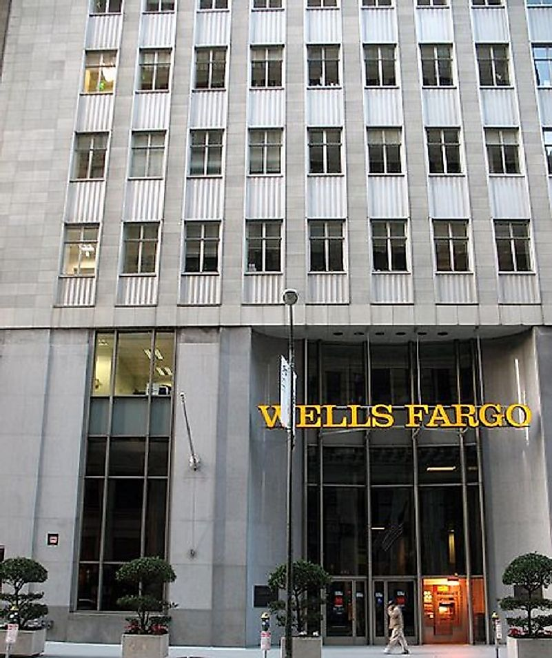 Corporate headquarters of Wells Fargo and Company in San Francisco, California, United States.