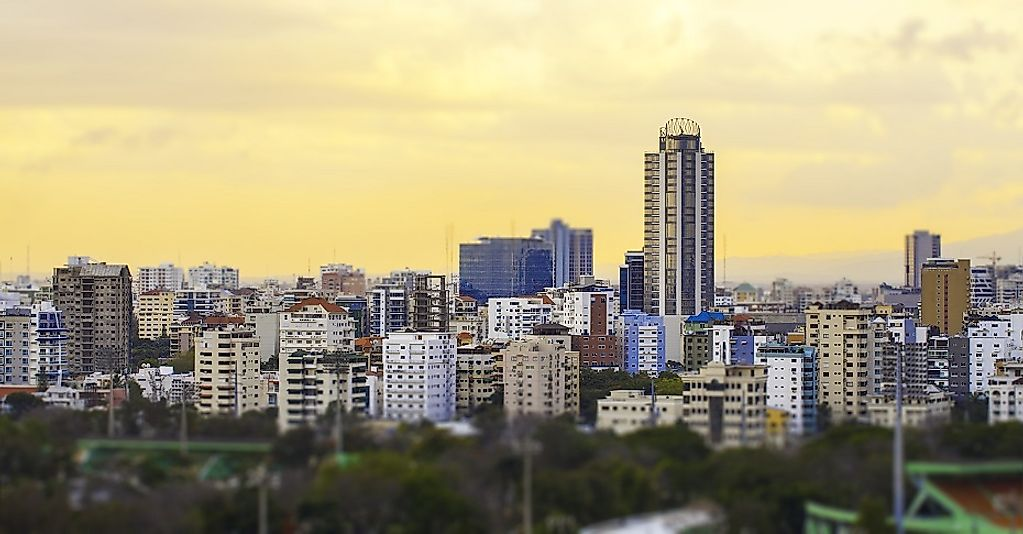 Santo Domingo, Dominican Republic is the most populous metropolitan area in the Caribbean region.