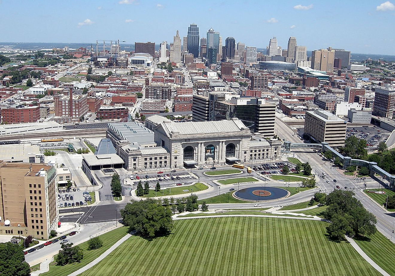Kansas City, Missouri. Image credit: Brian Hillega/Wikimedia Commons.