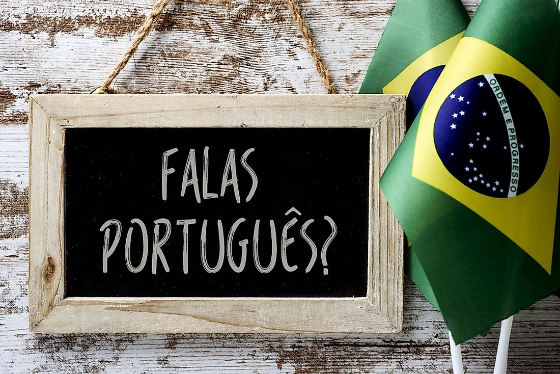Portuguese is the official language of Brazil, as well as its most used.