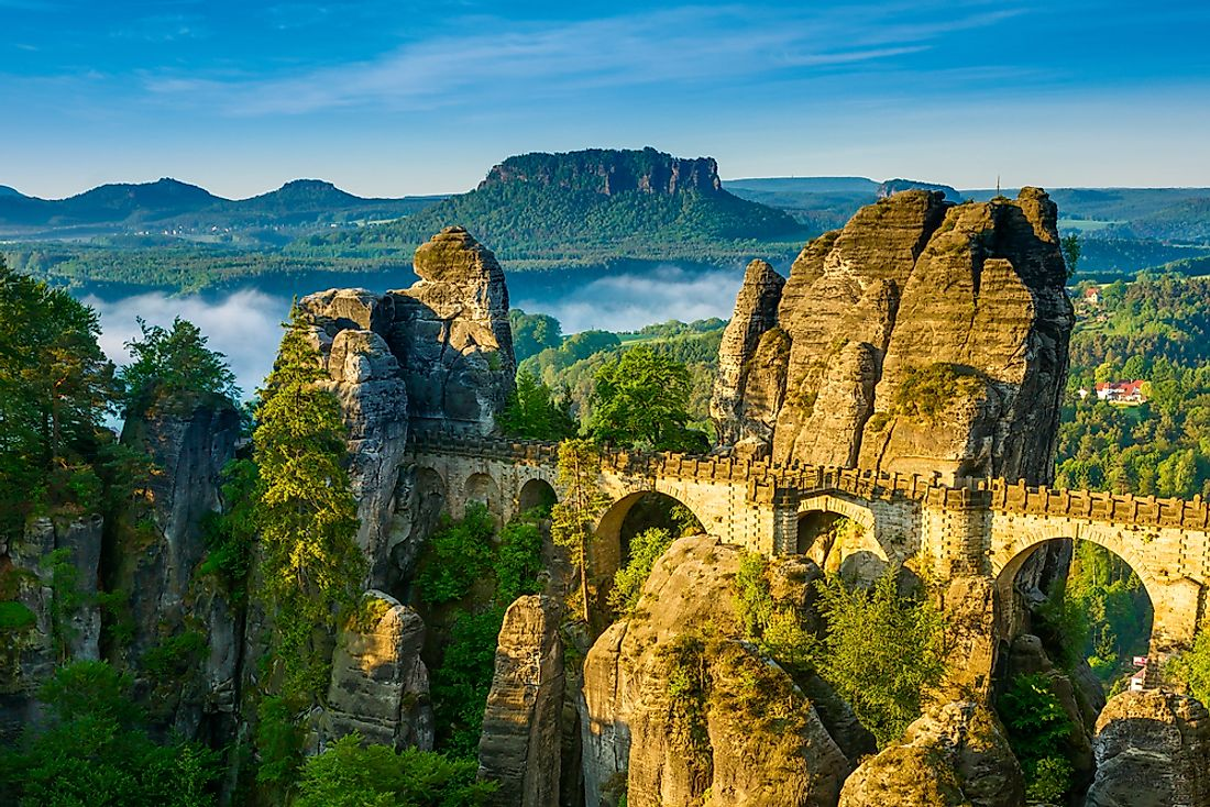 Saxon Switzerland National Park is one of Germany's most popular.