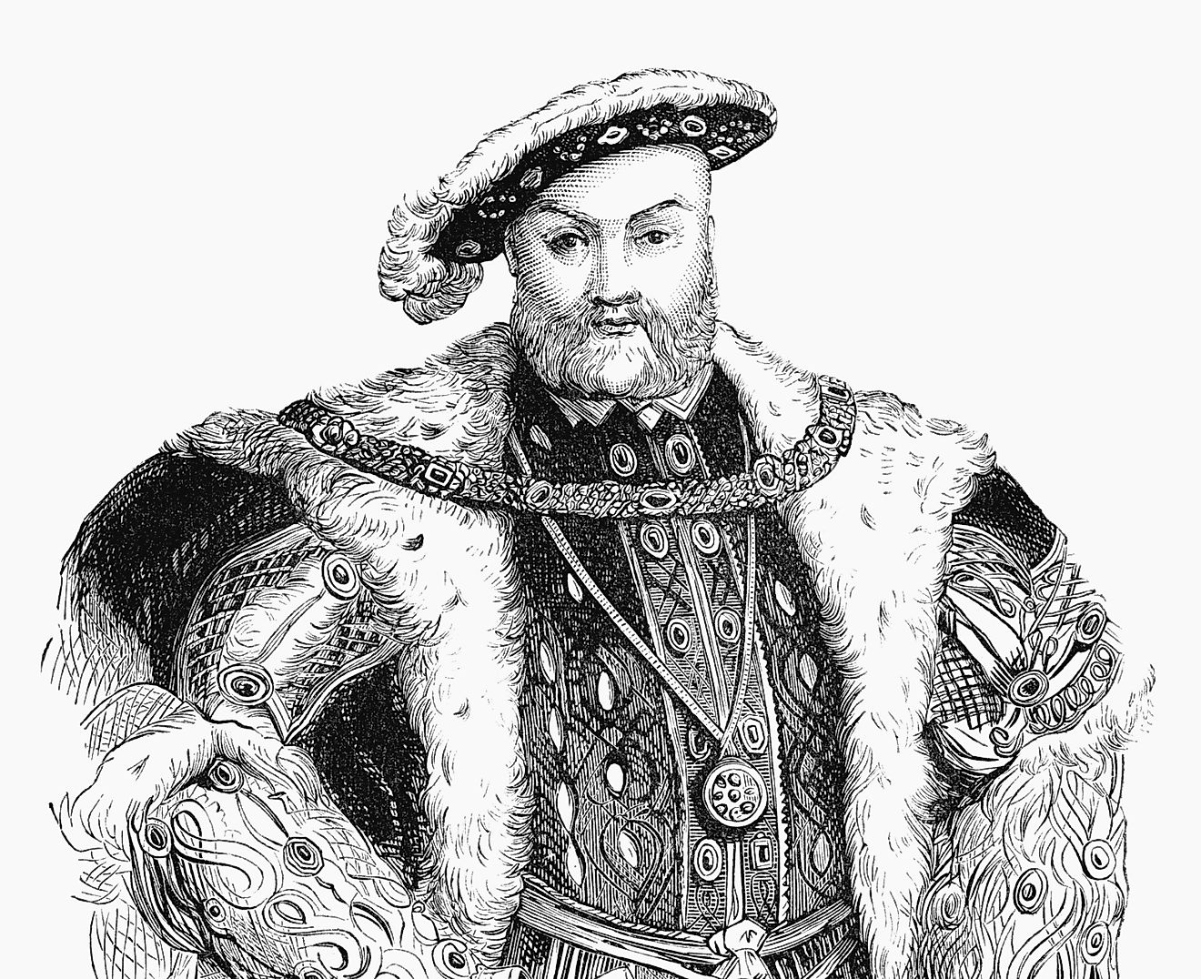 Henry VIII is well known for forming an Anglican Church independent from the Papal authority in Rome, as well as for his multiple spouses.