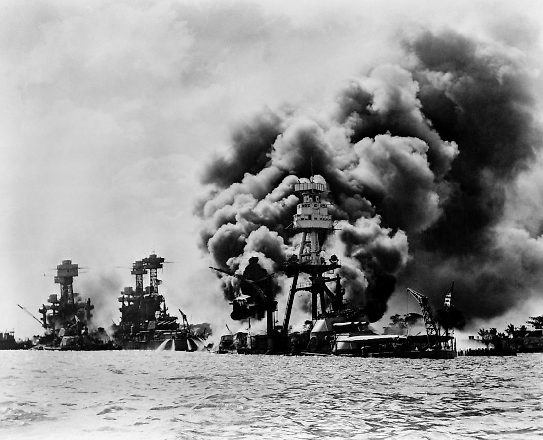 The attack on Pearl Harbor spurred the US to join WWII and the Battle of the Atlantic.