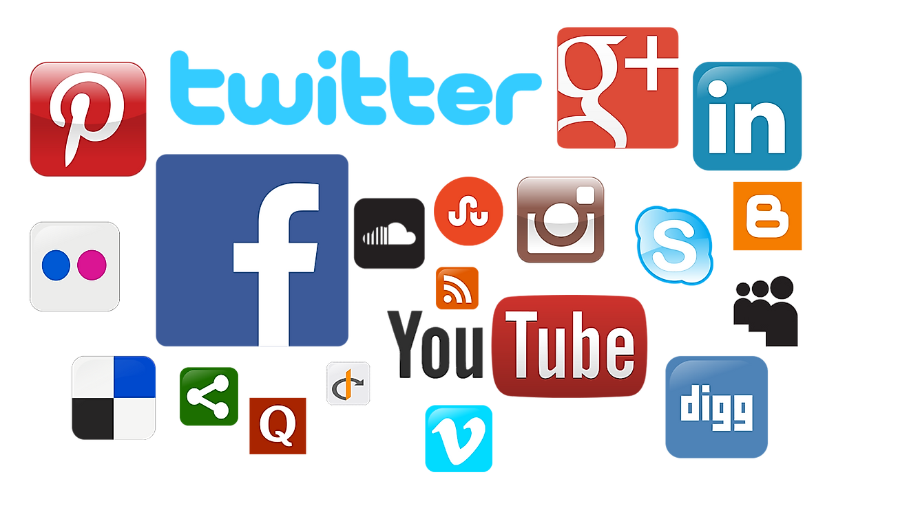 Facebook, You Tube, and Twitter are the most popular social media networks in the world today.