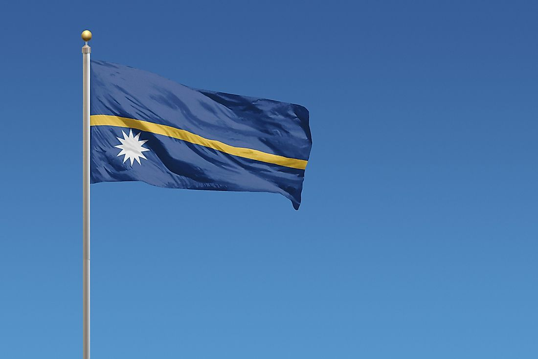 Nauru is a remote country in the South Pacific.