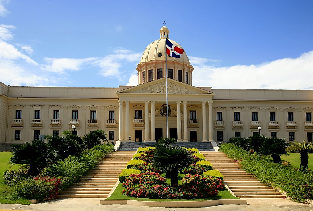 The Capitol Building of the Dominican Republic in Santo Domingo.