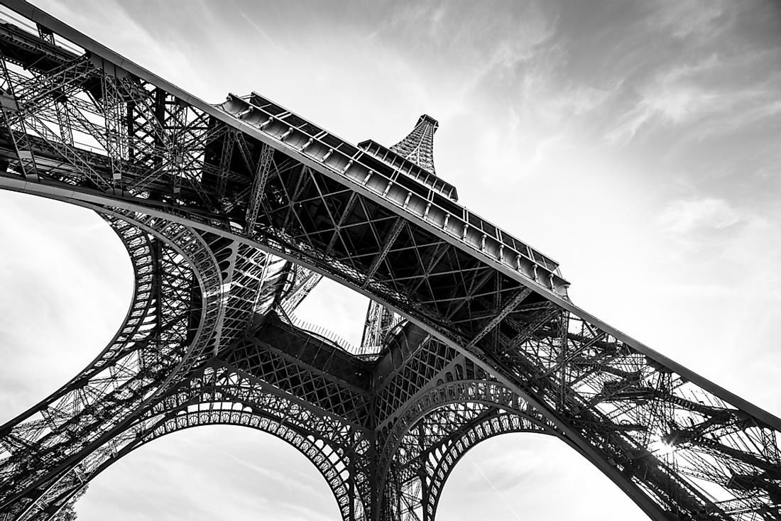 The EIffel Tower is one of the most well-known landmarks in the world.