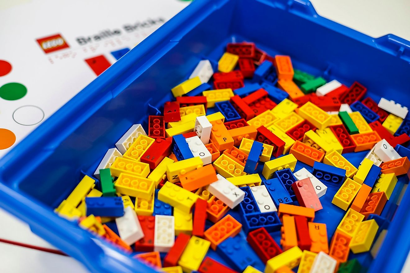 LEGO has been ranked the most reputable company in the world for consecutive years. Image credit: techcrunch.com