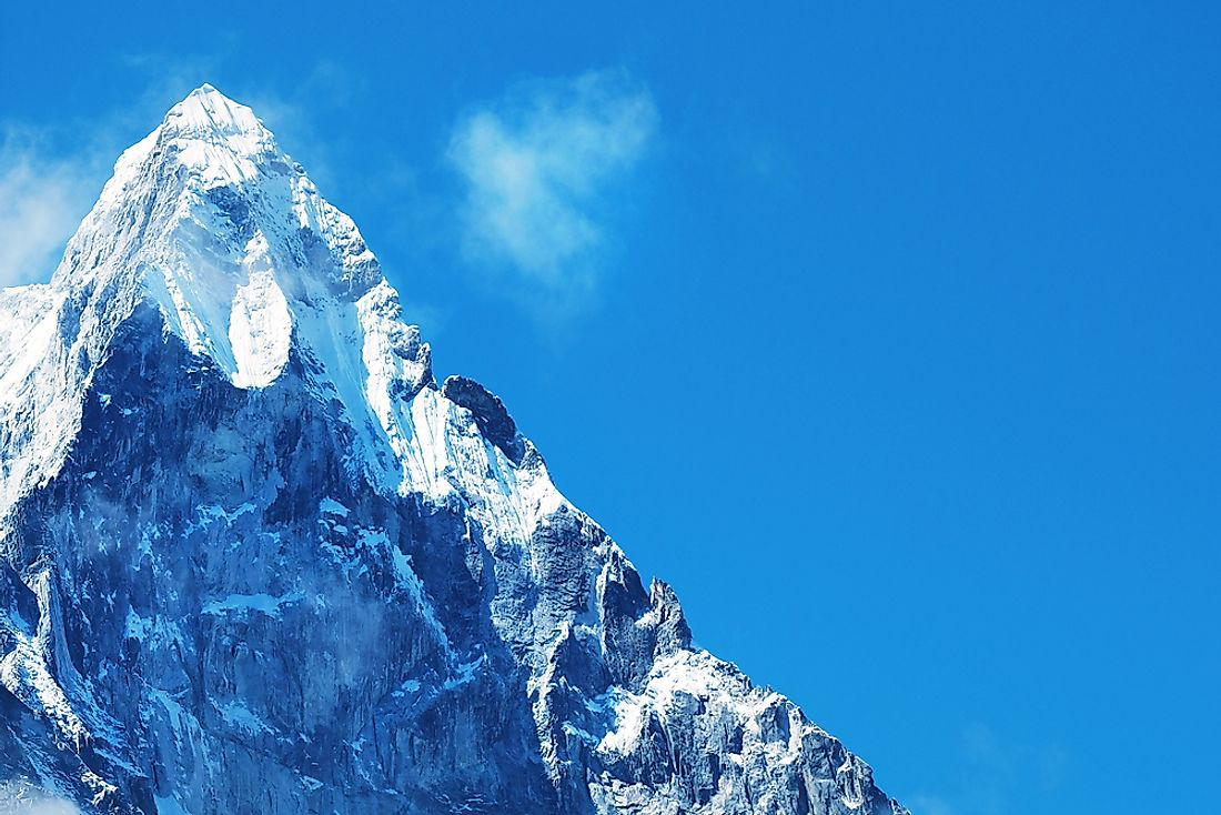 The famous Mount Everest.