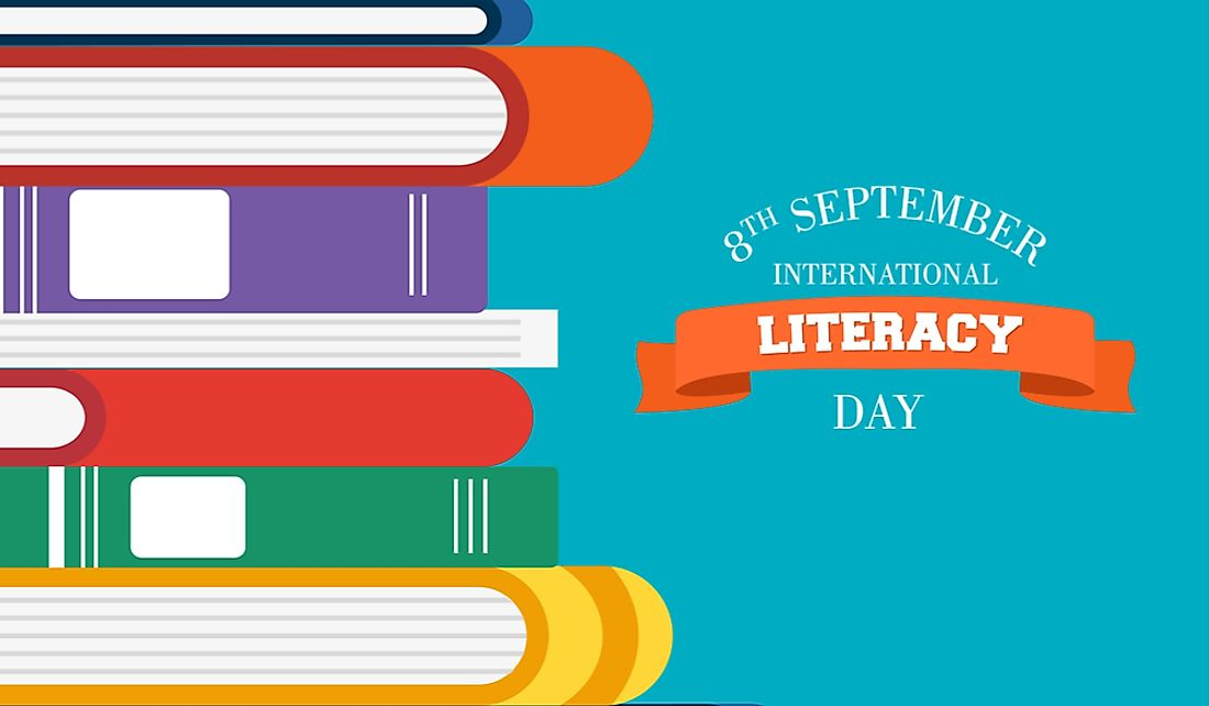 International Literacy Day has been celebrated annually on September 8th since 1967.
