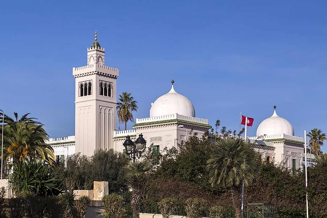 The national monument of Tunisia.