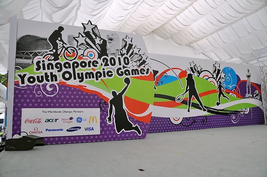 The first Summer YOG was held in Singapore in 2010. Editorial credit: Jordan Tan / Shutterstock.com