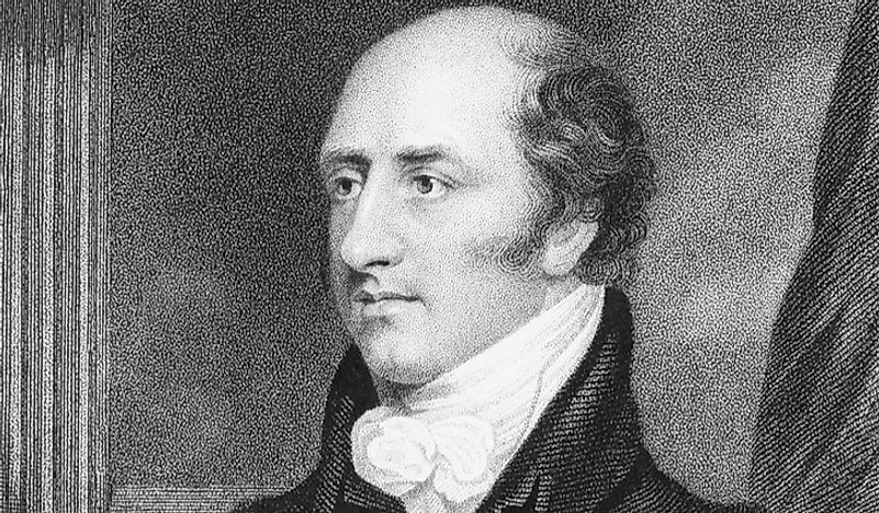 George Canning, the shortest-serving British PM in history.